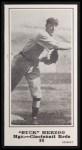1916 M101-5 Blank Back Reprint #80  Buck Herzog  Front Thumbnail