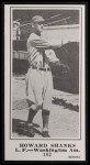 1916 M101-5 Blank Back Reprint #162  Howard Shanks  Front Thumbnail