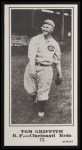 1916 M101-5 Blank Back Reprint #72  Tom Griffith  Front Thumbnail