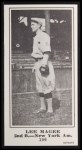 1916 M101-5 Blank Back Reprint #106  Lee Magee  Front Thumbnail