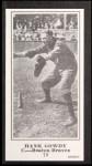 1916 M101-5 Blank Back Reprint #70  Hank Gowdy  Front Thumbnail