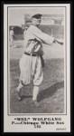 1916 M101-5 Blank Back Reprint #195  Mel Wolfgang  Front Thumbnail