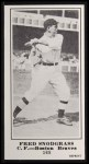 1916 M101-5 Blank Back Reprint #168  Fred Snodgrass  Front Thumbnail