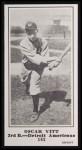 1916 M101-5 Blank Back Reprint #183  Oscar Vitt  Front Thumbnail