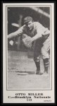 1916 M101-5 Blank Back Reprint #119  Otto Miller  Front Thumbnail