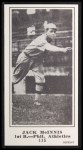 1916 M101-5 Blank Back Reprint #115  Jack McInnis  Front Thumbnail