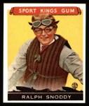 1933 Sport Kings Reprint #25  Ralph Snoddy   Front Thumbnail