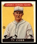 1933 Sport Kings Reprint #1  Ty Cobb   Front Thumbnail