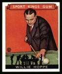 1933 Sport Kings Reprint #36  Willie Hoppe   Front Thumbnail