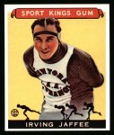 1933 Sport Kings Reprint #34  Irving Jaffee   Front Thumbnail