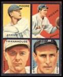 1935 Goudey 4-in-1 Reprint #4 E Ed Brandt / Fred Frankhouse / Shanty Hogan / Gene Moore  Front Thumbnail