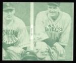 1935 Goudey 4-in-1 Reprint #8 L Al Spohrer / Flint Rhem / Ben Cantwell / Larry Benton  Back Thumbnail
