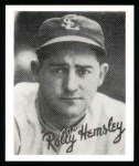 1936 Goudey Reprint #17  Rollie Hemsley  Front Thumbnail