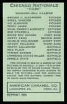 1922 E120 American Caramel Reprint #152  Grover Alexander  Back Thumbnail