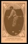 1922 E120 American Caramel Reprint #60  Lawrence Woodall  Front Thumbnail