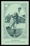 1922 E120 American Caramel Reprint #143  Al Mamaux  Front Thumbnail