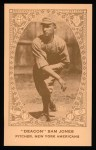 1922 E120 American Caramel Reprint #65  Sam Jones  Front Thumbnail