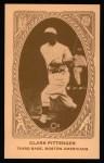 1922 E120 American Caramel Reprint #10  Clarke Pittenger  Front Thumbnail