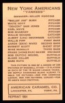 1922 E120 American Caramel Reprint #73  Everett Scott  Back Thumbnail