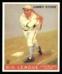 1933 Goudey Reprint #6  Jimmy Dykes  Front Thumbnail