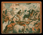 1939 Gum Inc. War News Pictures #77   Nazi Machine Gunners Slay Polish Cavalry Front Thumbnail