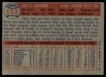 1957 Topps #152  Jack Harshman  Back Thumbnail