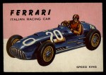 1954 Topps World on Wheels #63   Ferrari Front Thumbnail