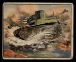 1939 Gum Inc. War News Pictures #57   French Tank In Action Front Thumbnail