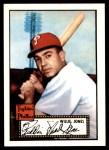 1952 Topps REPRINT #47  Willie Jones  Front Thumbnail