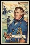 1956 Topps U.S. Presidents #15  Zachary Taylor  Front Thumbnail