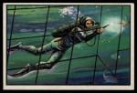 1954 Bowman U.S. Navy Victories #35   Frogmen Cut Nets Front Thumbnail