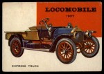 1954 Topps World on Wheels #36   Locomobile Express Truck 1907 Front Thumbnail