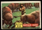 1956 Topps Round Up #24   -  Buffalo Bill Buffalo Hunt Front Thumbnail