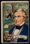 1952 Bowman U.S. Presidents #16  Millard Fillmore  Front Thumbnail