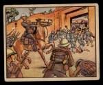 1938 Gum Inc. Horrors of War #95   Ras Seyum's Bodyguard Defends Palace Front Thumbnail