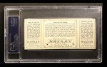 1912 T202 Hassan   -  Chief Meyers / Hooks Wiltse Too Late For Devlin  Back Thumbnail