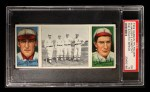 1912 T202 Hassan   -  Arnold Hauser / Ed Konetchy The Athletic Infield  Front Thumbnail