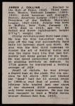 1950 Callahan Hall of Fame  Jimmy Collins  Back Thumbnail