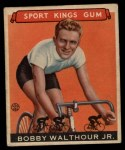 1933 Goudey Sport Kings #31  Bobby Walthour Jr.  Front Thumbnail