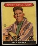 1933 Goudey Sport Kings #15  Reggie McNamara   Front Thumbnail