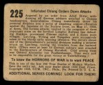 1938 Gum Inc. Horrors of War #225   Infuriated Chiang Orders Dawn Attacks Back Thumbnail