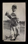 1936 Goudey Wide Pen  Buddy Myer   Front Thumbnail