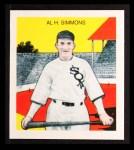 1933 Tattoo Orbit Reprint #53  Al Simmons  Front Thumbnail