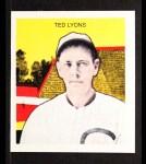 1933 Tattoo Orbit Reprint #43  Ted Lyons  Front Thumbnail