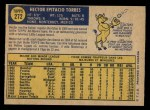 1970 O-Pee-Chee #272  Hector Torres  Back Thumbnail