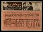 1966 O-Pee-Chee #63  Jim Stewart  Back Thumbnail