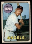 1969 O-Pee-Chee #103  Roger Repoz  Front Thumbnail