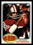 1976 Topps #418  Gene Washington  Front Thumbnail