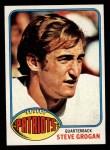 1976 Topps #376  Steve Grogan   Front Thumbnail