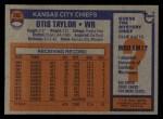 1976 Topps #362  Otis Taylor  Back Thumbnail